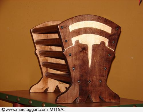MT167C-WoodenMagazineRack