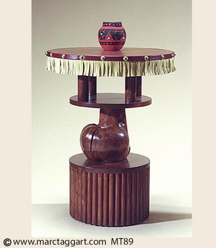 MT89 Three Tier Table with Fringe