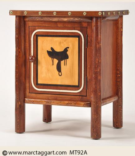 MT92A Saddle Night Stand