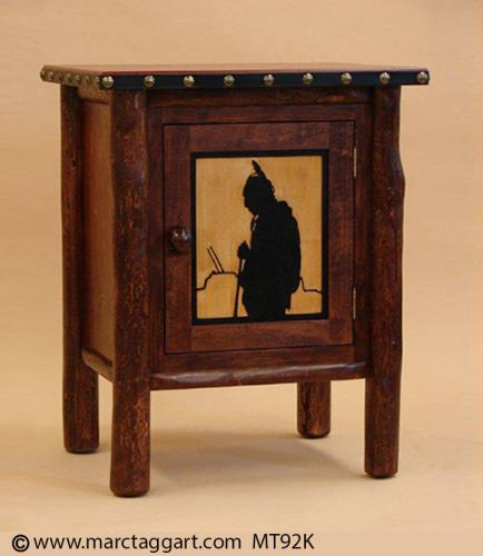 MT92K Indian Brave Cabinet / Nightstand