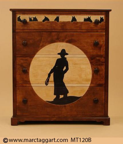 MT120B-Cowgirl Dresser